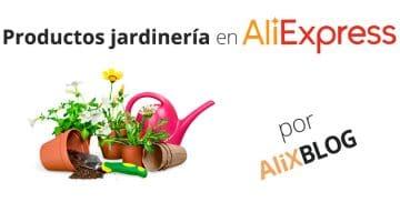 Productos de jardinería en AliExpress