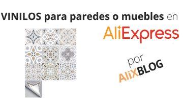 Cómo encontrar vinilos decorativos para muebles y paredes en AliExpress