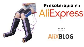 Cómo conseguir tu propia máquina de presoterapia en AliExpress
