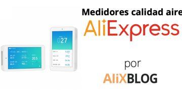 Medidores de calidad de aire en AliExpress