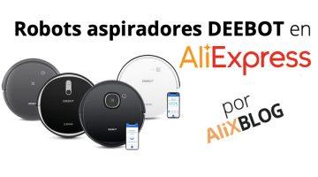 Analizamos los robots aspiradores Deebot de Ecovacs, ya disponibles en AliExpress