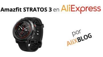 El nuevo Amazfit Stratos 3 está arrasando en AliExpress y te explicamos por qué