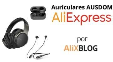 Ausdom, la nueva marca de auriculares que triunfa entre los compradores de AliExpress