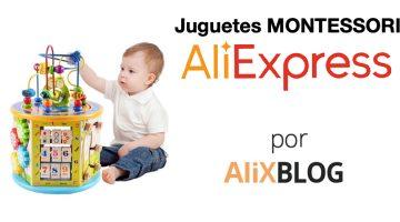 Juguetes Montessori: cómo encontrarlos en AliExpress