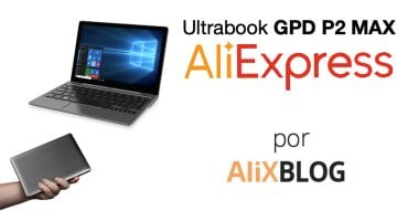 GPD P2 Max: así es el Ultrabook más pequeño del mundo (y ya está a la venta en AliExpress)
