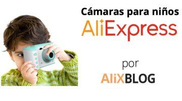 Cámaras para niños en AliExpress: un juguete original y creativo