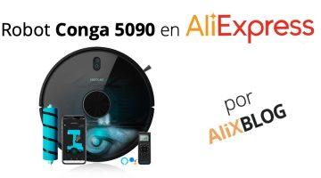 Cecotec nos sorprende con la nueva Conga 5090 en AliExpress