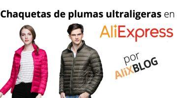 Las mejores chaquetas de plumas ultraligeras de AliExpress