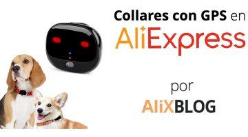 Collares con GPS para mascotas en AliExpress