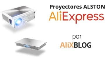Analizamos los proyectores Alston en AliExpress