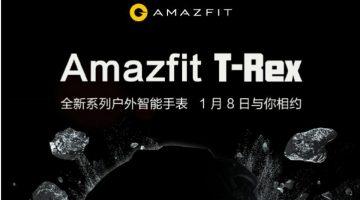 Amazfit T-Rex, el smartwatch resistente para los más aventureros