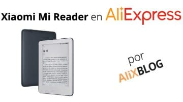 Xiaomi MiReader: la mejor alternativa a los Kindle de Amazon ya está en AliExpress