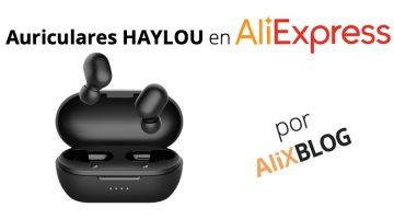 Así son los impresionantes auriculares inalámbricos de la marca Haylou (submarca de Xiaomi)