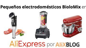 BioloMix: Sousvide, batidoras y amasadoras baratas en AliExpress