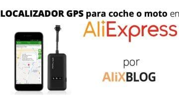 Localizadores GPS para vehículos en AliExpress