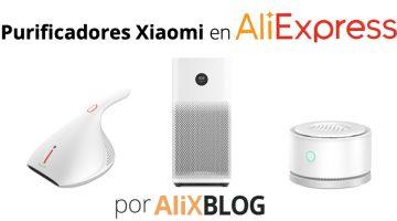 Purifica tu hogar con estos productos de Xiaomi en AliExpress