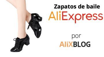 Zapatos de baile (salón, latino, jazz, claqué…) muy baratos en AliExpress