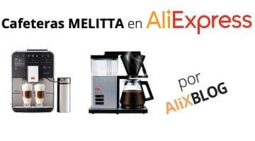 Las cafeteras de alta gama Melitta abren su tienda oficial en AliExpress Plaza