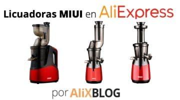 Licuadoras de prensado en frio Miui Slow Juicer a la venta YA en AliExpress