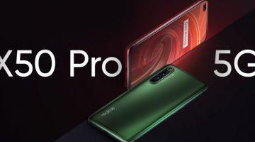 El mejor móvil de Realme el X50 Pro 5G ya es una realidad