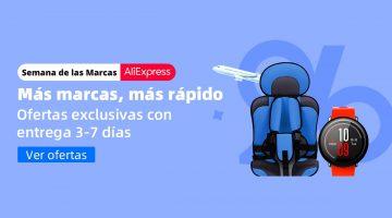 Atención chollos: llega la semana de las marcas a AliExpress