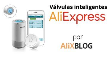 Válvulas termostáticas con WIFI para radiadores en AliExpress