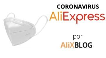 Mascarillas ffp2 y ffp3 en AliExpress + envíos (especial Coronavirus)