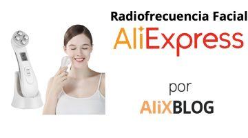 Realizar un tratamiento de radiofrecuencia facial ya es posible con AliExpress
