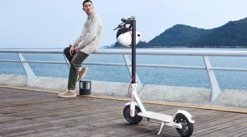 A esperada nova scooter Xiaomi é uma realidade
