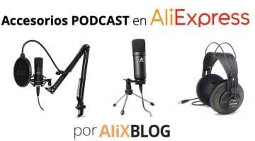 Mejores micrófonos y accesorios para podcast en AliExpress