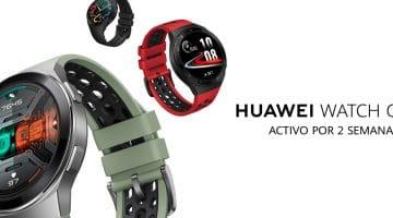 Lanzamiento mundial del Huawei Watch GT 2E en AliExpress