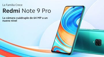 El económico y esperado Redmi Note 9 Pro, ya disponible
