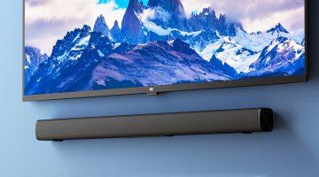 Agora você pode melhorar sua TV com a Barra de Som Barata da Xiaomi