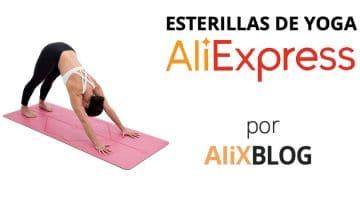 Esterillas de yoga baratas y de calidad en AliExpress