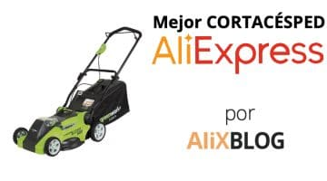 Revisamos algunas de las marcas chinas de cortacésped disponibles en AliExpress