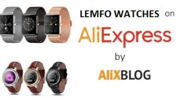 Shopping Guide for Lemfo Watches on AliExpress: Prices, Models and Opinions.
