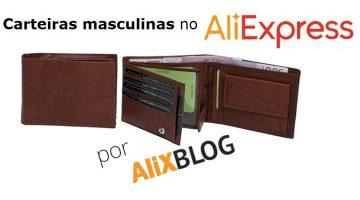 Como encontrar carteiras, bolsas e porta-cartões para homens e mulheres no AliExpress