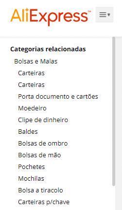 categorias de carteira