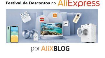 Festival de Marcas: obtenha os melhores produtos AliExpress com desconto
