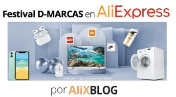 Festival de marcas: llévate los mejores productos de AliExpress con descuento