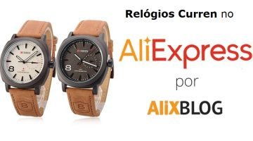 Comprando Relógios Curren no AliExpress: Avaliações, Preços e Modelos