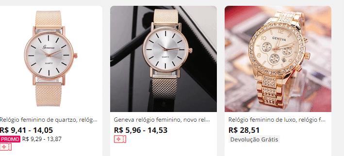 relógios-geneva-aliexpress