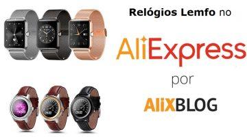 Guia de compra de relógios Lemfo no AliExpress: preços, modelos e opiniões