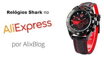 Relógios Shark no AliExpress – Preços e Opiniões