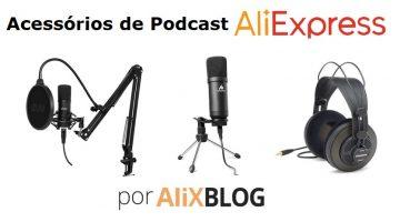 Melhores Microfones e Acessórios Para Podcast no AliExpress