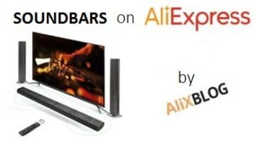 Low-Priced Soundbars on AliExpress: Improve your TV's Sound Quality