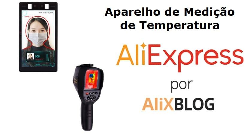 aparelho de medição de temperatura