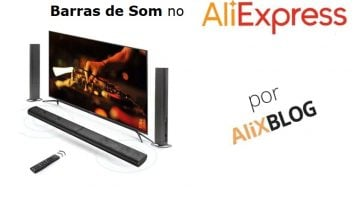 Barras de som baratas no AliExpress: melhore a qualidade do som da sua TV