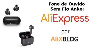 Melhores Fones de Ouvido Sem Fio da Anker no AliExpress