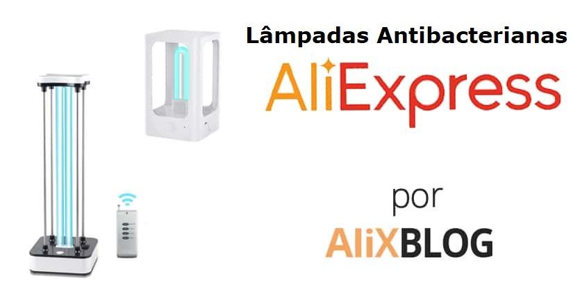 lâmpadas antibacteriana